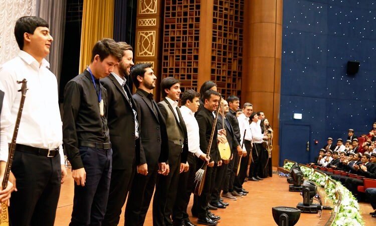 Music Program Celebrates Central Asian Independence, Highlights Regional Connections within the C5+1 Framework
