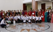 Group photo with teachers and students upon completion of the seminar