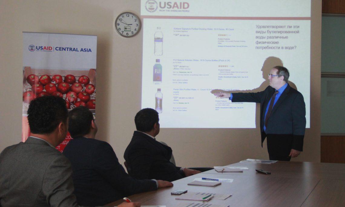 USAID telekeçilere Türkmenistanda eksporty ýokarlandyrmaga ýardam berýär
