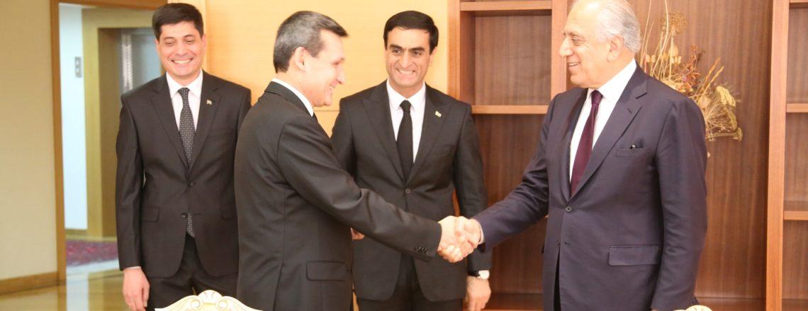 Специальный представитель Халилзад посетил Туркменистан