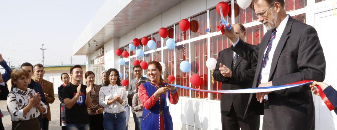 Американский уголок в г. Дашогуз возобновляет свою работу